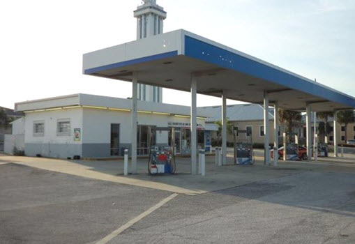 Vacant Gas Station