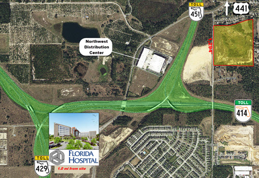 40.53 AC Site Near New Florida Hospital