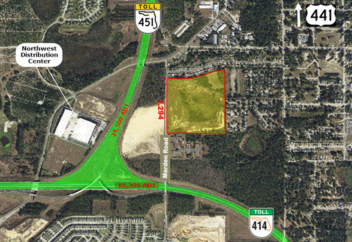 40.53 AC Site Near New Florida Hospital