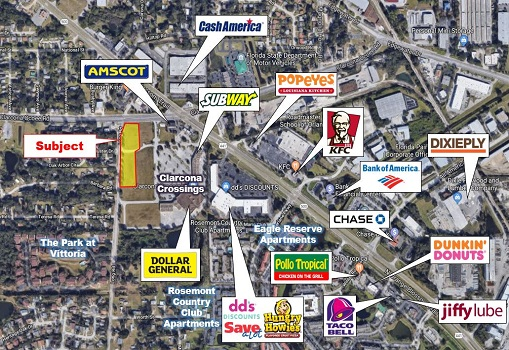 2.78 +/- AC Near US 441 || Buy Commercial Property in Orlando, Florida