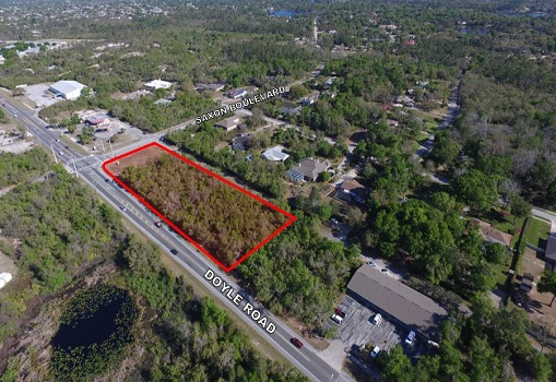1.77+/- AC on Doyle Rd and Saxon Blvd