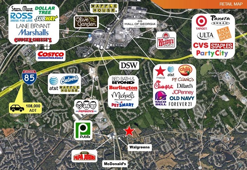 29+/- AC Near Mall of GA