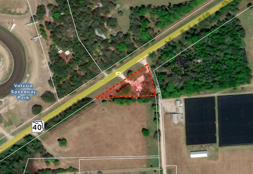 1.25+/- Acres Across From Volusia Speedway Park