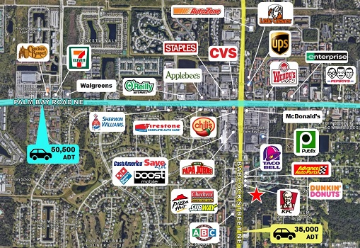 Commercial Land in Palm Bay