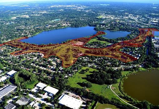 128 Acres in Orlando