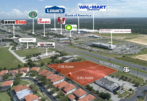Two Commercial Lots in Clermont