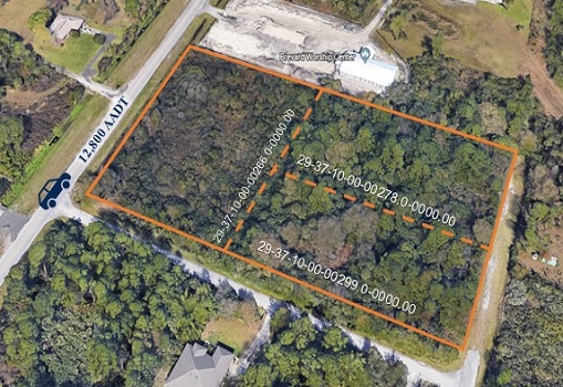 4.88+/- Acres Site Near Interstate 95