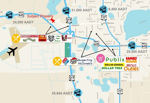 4.32 AC Lake Wales Plaza Outparcel